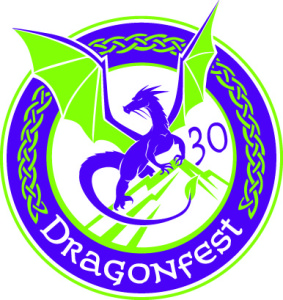 Dragonfest 30th anniversary logo